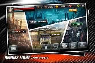 安卓角色扮演类网络对战游戏《英雄之战》