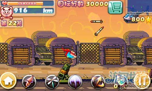 安卓单机《愤怒的小猪》游戏画面