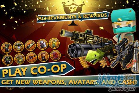 ipad街机游戏《迷你英雄2.0.1》游戏画面