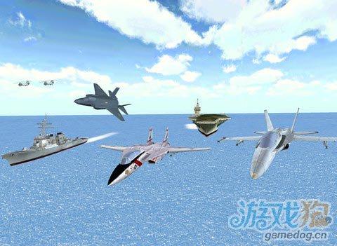 《航空联队》(Air Wing Pro)游戏画面