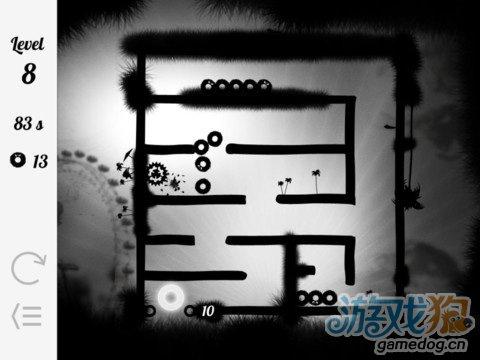 《重力逃生》(Gravity Maze)游戏画面