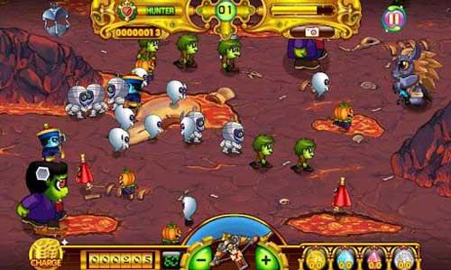 《驱魔达人》(Zombie Time)游戏画面
