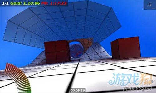 《三维轨道》(Velox 3D)游戏画面