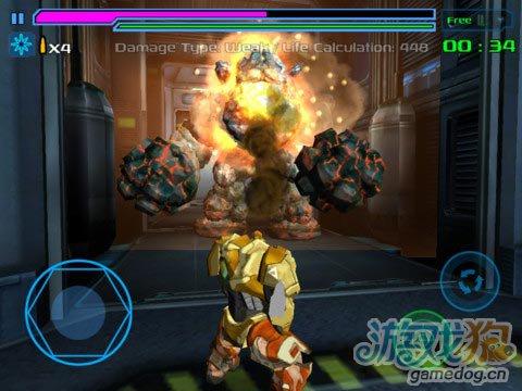 《猎人入侵者》(Invader Hunter)游戏画面