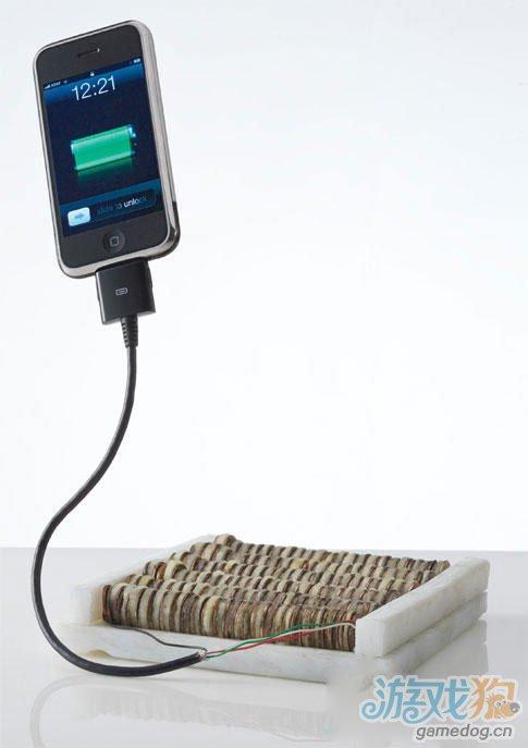 原电池堆:用真正的苹果为你的iPhone充电