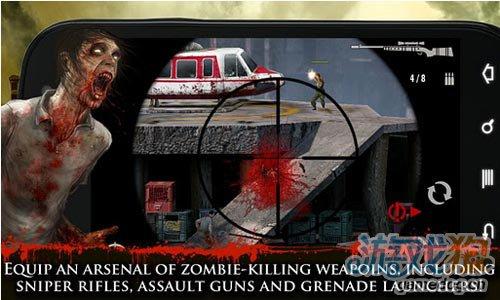 《契约杀手:僵尸之城》(Contract Killer: Zombies)游戏画面