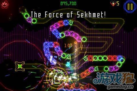 《祖玛进化 HD》(Luxor Evolved HD)游戏画面