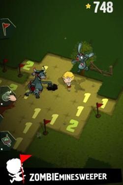 iPad游戏 经典作品全新演绎《僵尸扫雷》