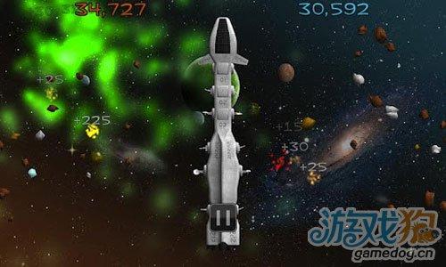 《飞船守卫》(Zip Zap)游戏画面