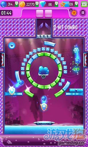 《豪华打砖块3》(Block Breaker 3 Free+)游戏画面