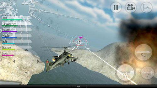 《直升机空战》(C.H.A.O.S)游戏画面
