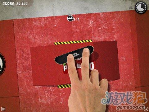 《手指滑板 HD》(Touchgrind HD)游戏画面
