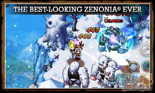 《泽诺尼亚传奇4》(Zenonia4)游戏画面