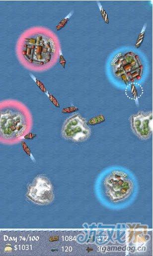 《海洋帝国:冬季之王》(Sea Empire: Winter Lords)游戏画面