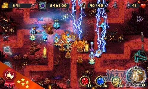《史诗塔防-元素》(Epic Defense – the Elements)游戏画面