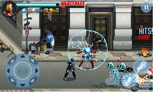 《复仇者联盟》(Avengers)游戏画面