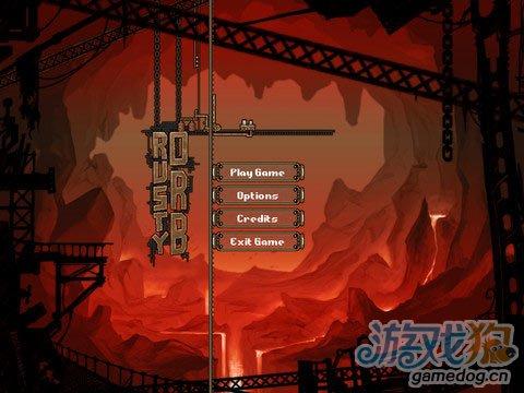 《铁锈飞船》(Rusty Orb)游戏画面