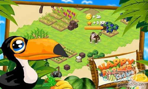 《开心农场:荒岛余生》(Happy Farmer - CastAway)游戏画面