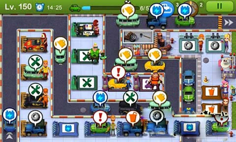 安卓平台清新塔防模拟游戏《小小车站》