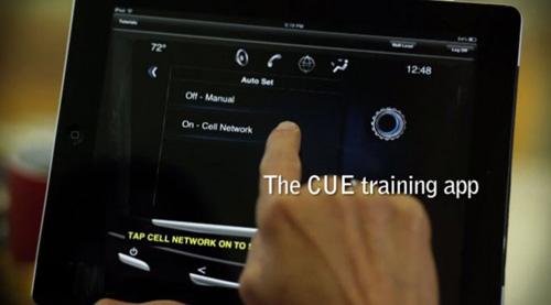 2013年iPad将成为凯迪拉克XTS系列轿车标配