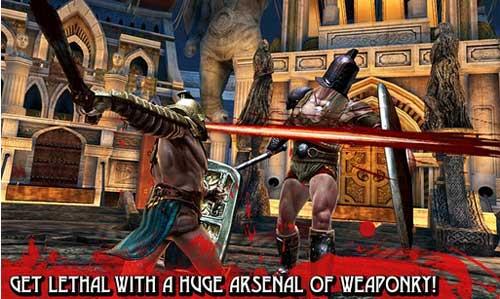 《血之荣耀血腥版》(BLOOD & GLORY (NR))游戏画面
