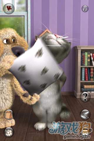 《会说话的汤姆猫2破解版》(Talking Tom 2 )游戏画面