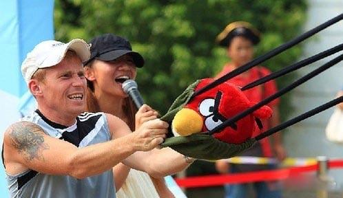《愤怒的小鸟》爆红 Rovio欲在中国多城建主题公园