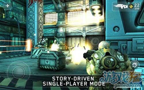 《暗影枪神》(ShadowGun)游戏画面