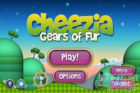 《奶酪老鼠:皮草齿轮》(Cheezia: Gears of Fur)游戏画面