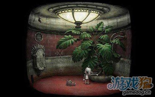 《机械迷城》(Machinarium)游戏画面