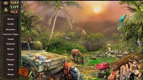 《亚马逊探险:隐秘征程》(Amazon:Hidden Expedition-Full)游戏画面