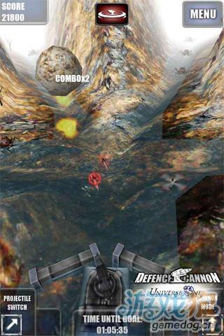 《重炮塔防》(Defence Cannon)游戏画面