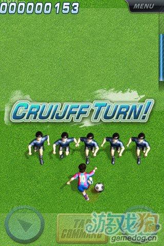 《指尖足球》(TapCommand Soccer)游戏画面