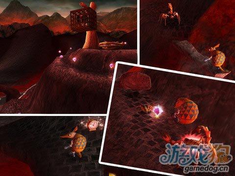 《穿山甲大冒险 HD》(Armado HD)游戏画面