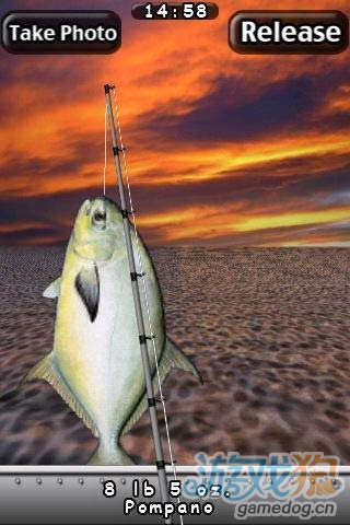 《我爱钓鱼咸水 精简版》(i Fishing Saltwater)游戏画面