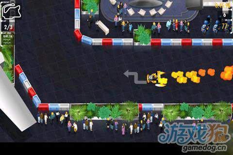 《红牛卡丁车世界巡回赛》(Red Bull Kart Fighter WT)游戏画面