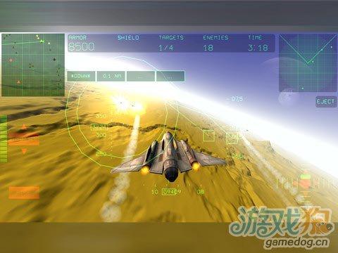《霹雳空战》(Fractal Combat)游戏画面