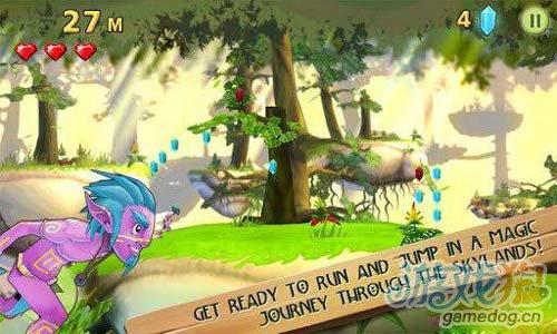 《天空跑酷》(Skyrise Runner Zeewe)游戏画面