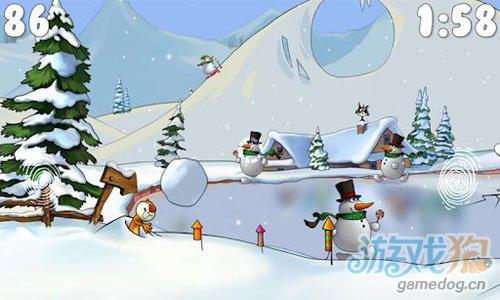 《雪人的故事》(Snowmen Story )游戏画面