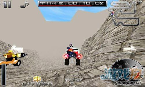 《疯狂越野》(CrazXQuad Free)游戏画面