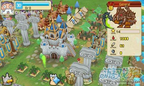 国产热门Android在线策略塔防类游戏《小小帝国》