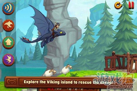 iOS物理闯关游戏《幻梦之龙:驯龙高手》试玩评测