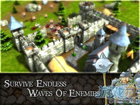 Blowfish出品iOS版塔防策略类游戏《攻城大战》