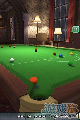 《斯诺克俱乐部》(Snooker Club)游戏画面