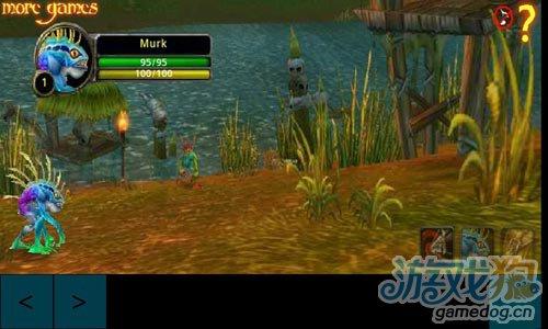《魔兽世界之鱼人冒险》(Murloc Adventure RPG)游戏画面