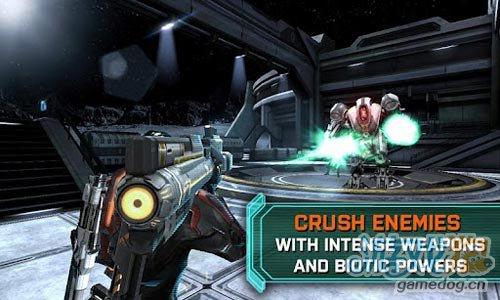 《质量效应:渗透者》(Mass Effect Infiltrator)游戏画面