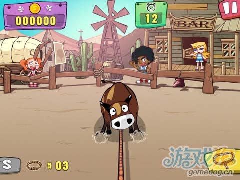 《牛仔嘉年华 HD》游戏画面