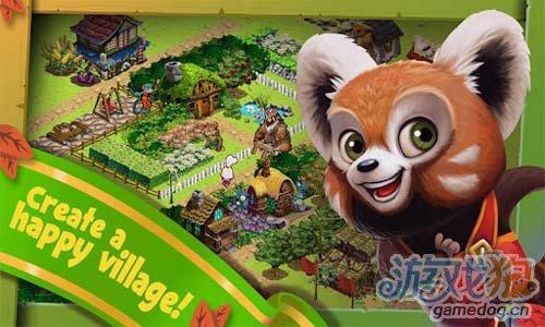 《丛林大冒险》(Woodland Adventures)游戏画面