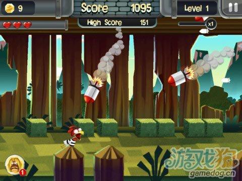 《小鸡大逃亡》(ChickenBreak)游戏画面