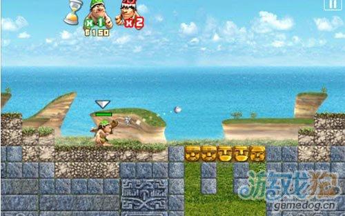 《石器战争》(StoneWars)游戏画面